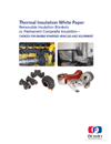 Removable Insulation Blankets vs Permanent Composite Insulation - White Paper